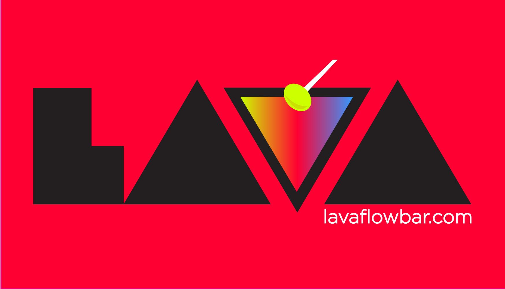 Identidad Corporativa: LAVA FLOW BAR