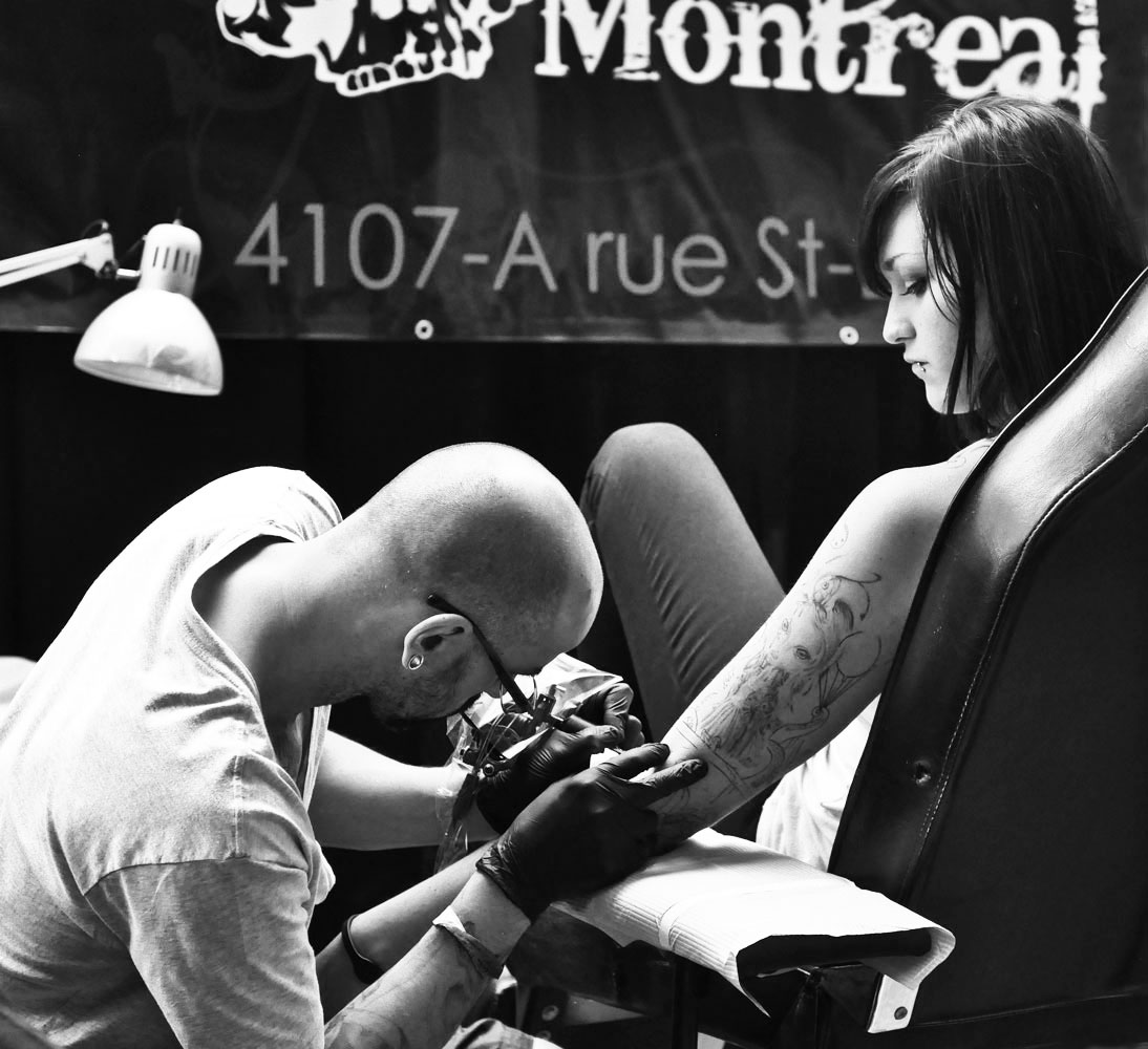 Montreal Art y Tattoo Show
