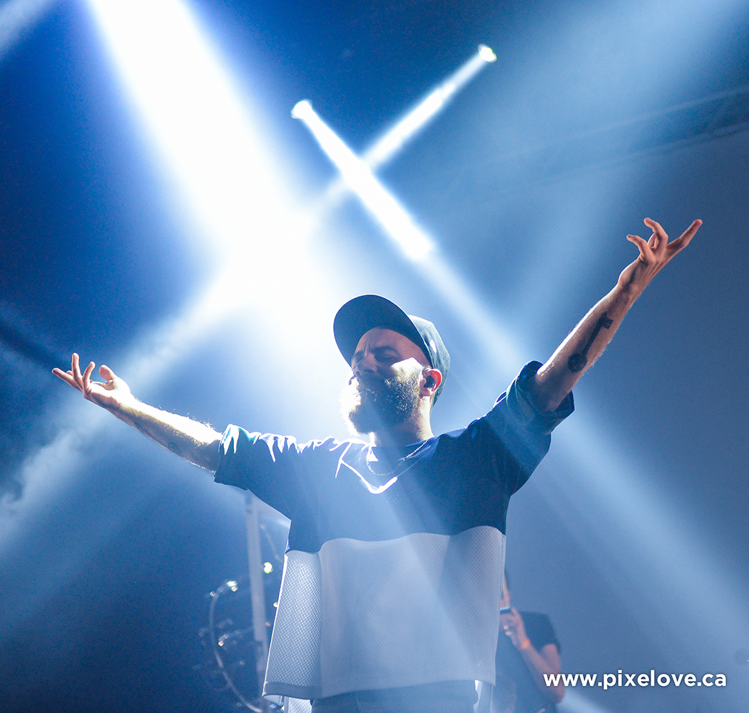 Woodkid with Black Atlas performed at Métropolis in Montreal on October 17th 2013.
