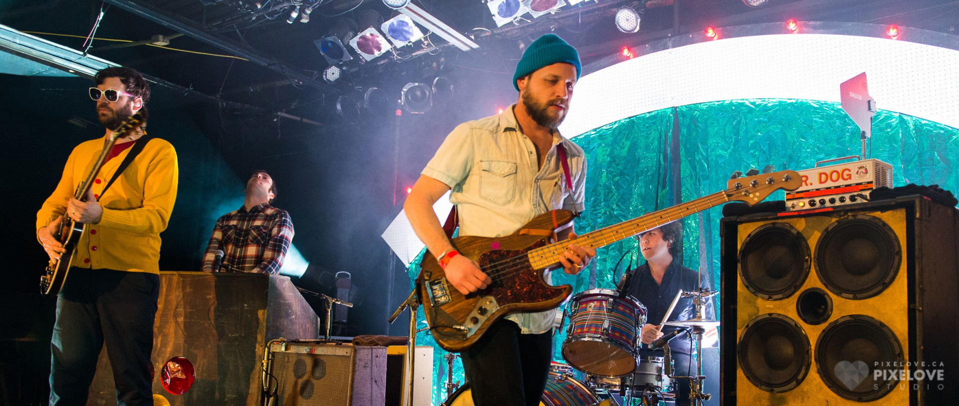 Dr. Dog + Saint Rich performed at Cabaret du Mile End in Montreal on January 29 2014.