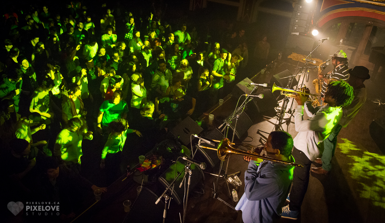 The Skatalites and The Beatdown performed at Rialto Theatre in Montreal on November 21 2013.