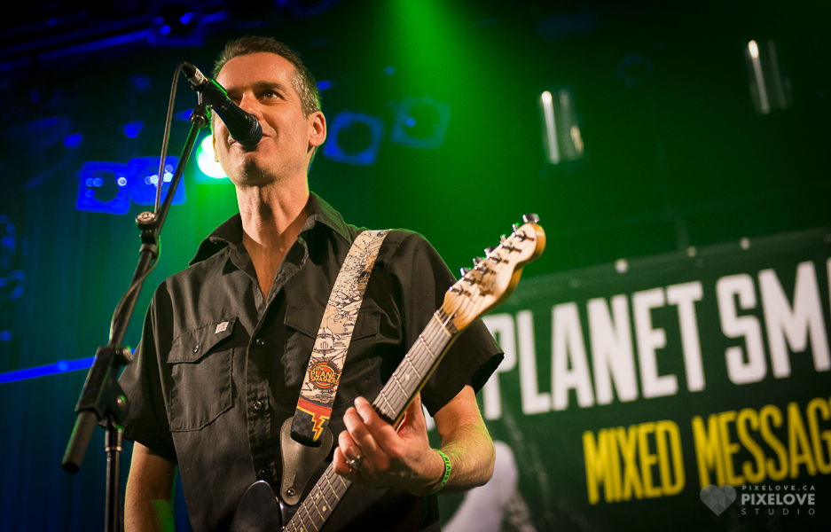 THE PLANET SMASHERS 20TH ANNIVERSARY CONCERT in Montreal at Corona Theatre on April 26 2014.