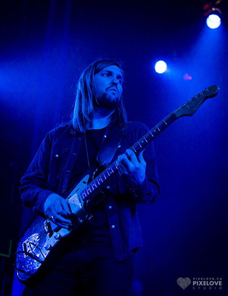 Band of Skulls and Sacco performed at Corona Theatre in Montreal on April 25 2014.