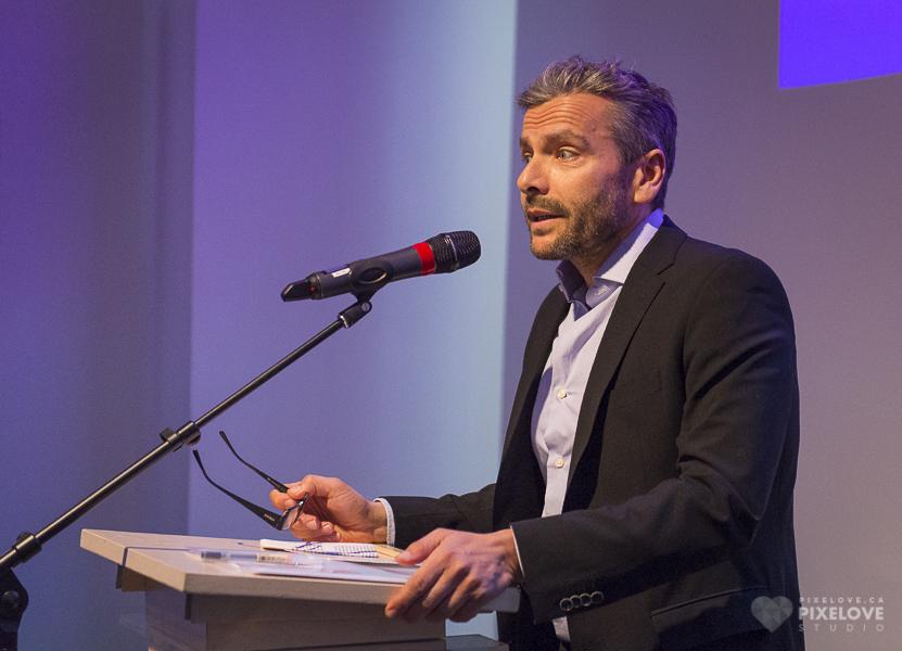 Conférence de presse Elektra Mutek EM15 2014 au Musée d'art contemporain le 24 avril 2014.
