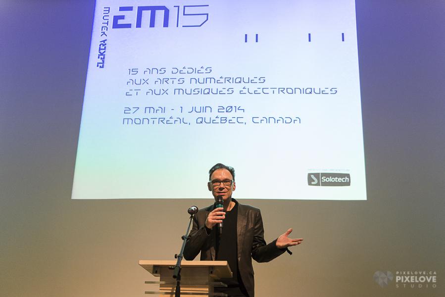 Conferencia de prensa: festival EM15