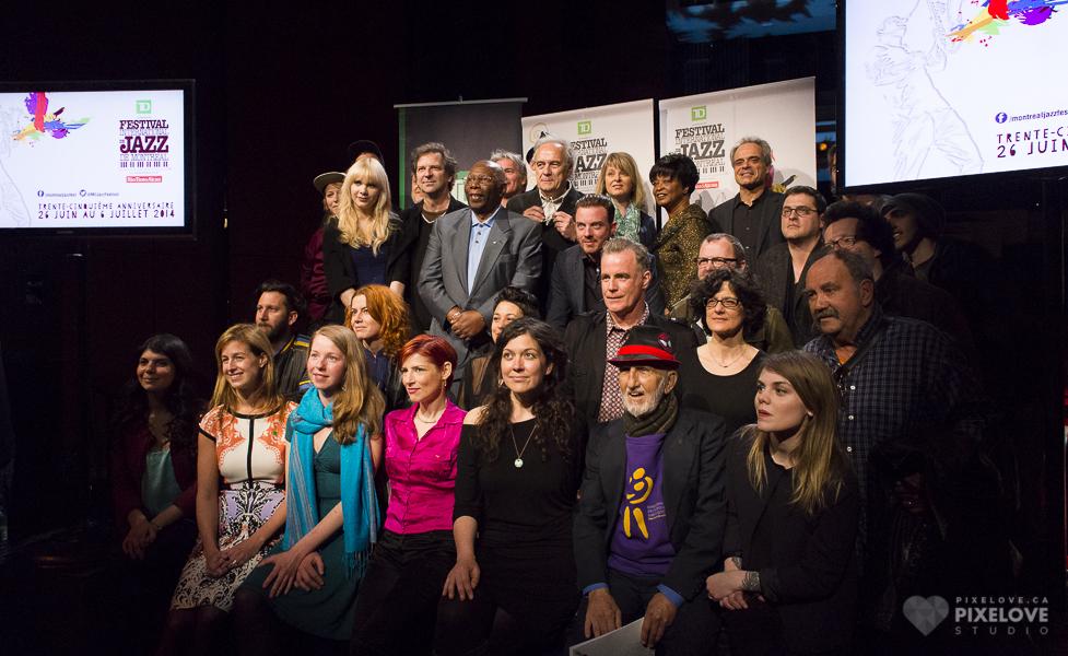 Conferencia de prensa: Festival Internacional de Jazz de Montreal