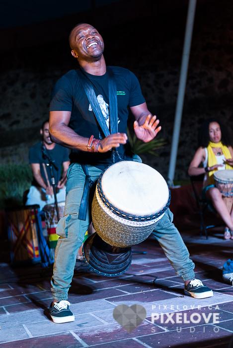 Festival Internacional Afrika Fusion 2016 en Queretaro Mexico.