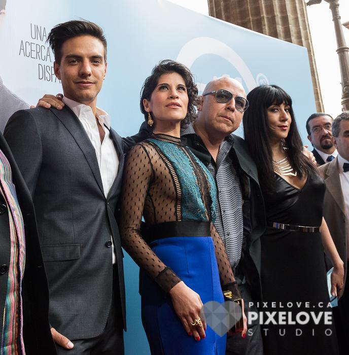 Alfombra roja del Guanajuato International Film Festival 2016 en San Miguel de Allende y Guanajuato Capital, Mexico.