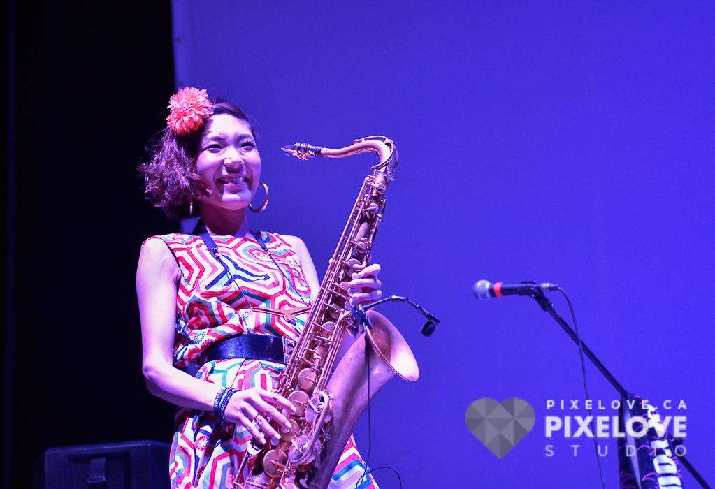 Tokyo Brass Style  durante el Guanajuato International Film Festival 2016 en San Miguel de Allende y Guanajuato Capital, Mexico.