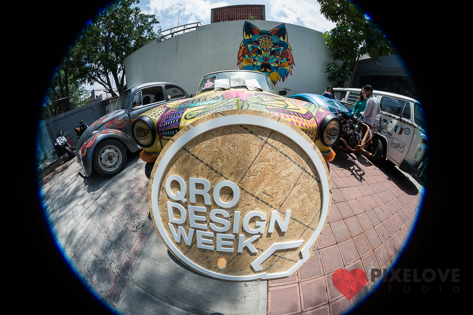 Queretaro Design Week 2016. Conferencias, talleres, fiestas y eventos del 7 all 11 de septiembre.