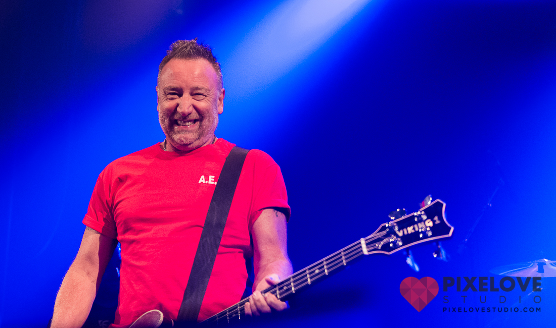 Peter Hook & The Light performs at Club Soda in Montreal, Canada, on November 10th 2014, as part of the north american 'Low-Life & Brotherhood' tour.