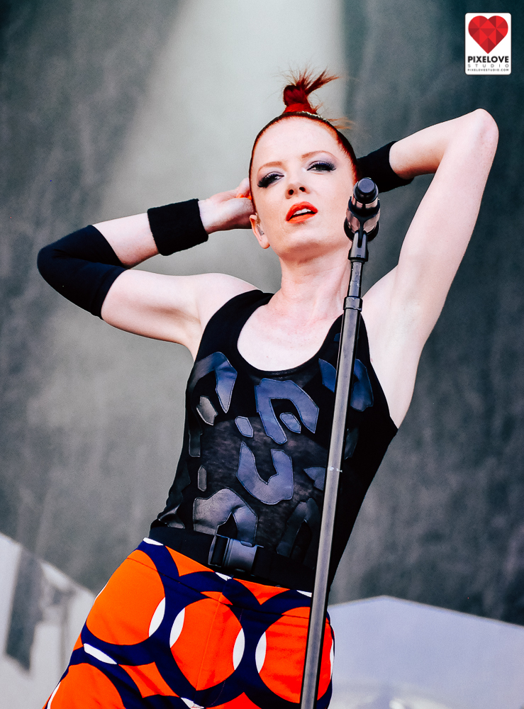 Garbage and Calexico performed in Osheaga Music Festival 2012 in Montreal at Parc Jean Drapeau.