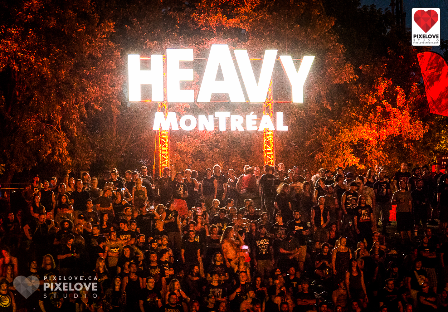 Heavy Montreal 2014 heavy metal music festival at Parc Jean-Drapeau.
