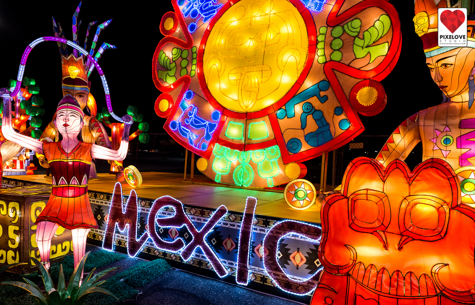 Lights of the World Lantern Festival Phoenix AZ