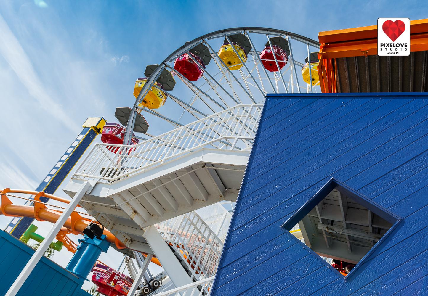 Visit California, Los Angeles, Santa Monica, Venice Beach.